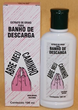 Magnetisch Parfumbad 'Abre Meu Caminho'.