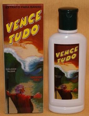 Magnetisch Parfumbad 'Vence Tudo'.