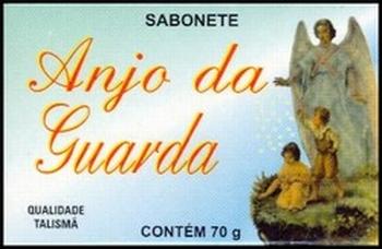 Rituele zeep `Anjo da Guarda` van het merk Talismã.